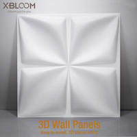 3D Plastic Wall Panels Wall Art Decor