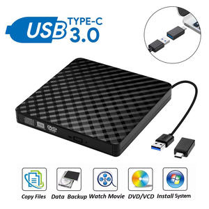 Player Burner Dvd-Drive Laptop Dvd Rw Rewriter External Portable Windows-10 USB3.0 Mac Os