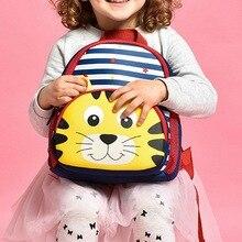 Litthing New Cute Kids Toddler School Bags Backpack Children Kindergarten Schoolbag 3D Cartoon Animal Bag for Girls Boys недорого
