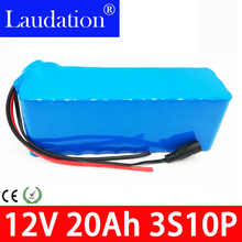12v20ah 12v battery li-ion Super Rechargeable Lithium-ion Battery DC 12V 20000mAh With EU Plug 12.6v 20Ah pack Laudation
