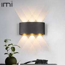 Modern LED Wall Lamp 2W 4W 6W Wall Sconces Indoor Stair Light Fixture Bedside Loft Living Room Up Down Home Hallway Lampada