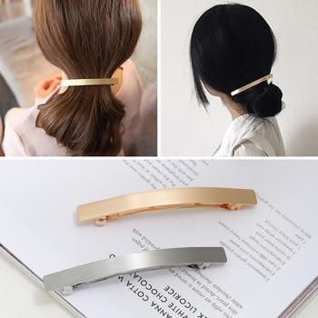 1 PC Metal Long Strip Hairpins Women Hair Clips barrette Bobby Pins Girls Hairgrip Hair Accessories Headdress Dropship Hot Sale