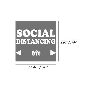 Image 5 - Keep 6ft Social Distance HTV Printable Heat Fabrics Iron On Heat Transfer Vinyl Sheets for DIY Clothing T shirts Totes Bags