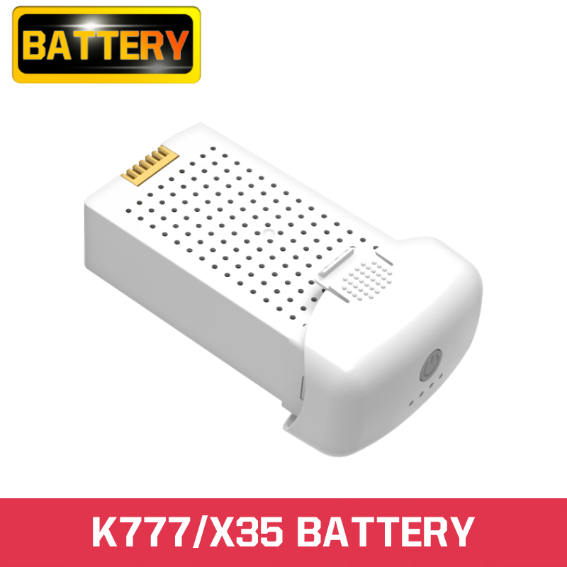 K777 X35 Battery 7.6V 3150mAh 30 Minutes Flight Time Lithium Battery For K777 X35 Drone RC Quadcopter Spare Battery