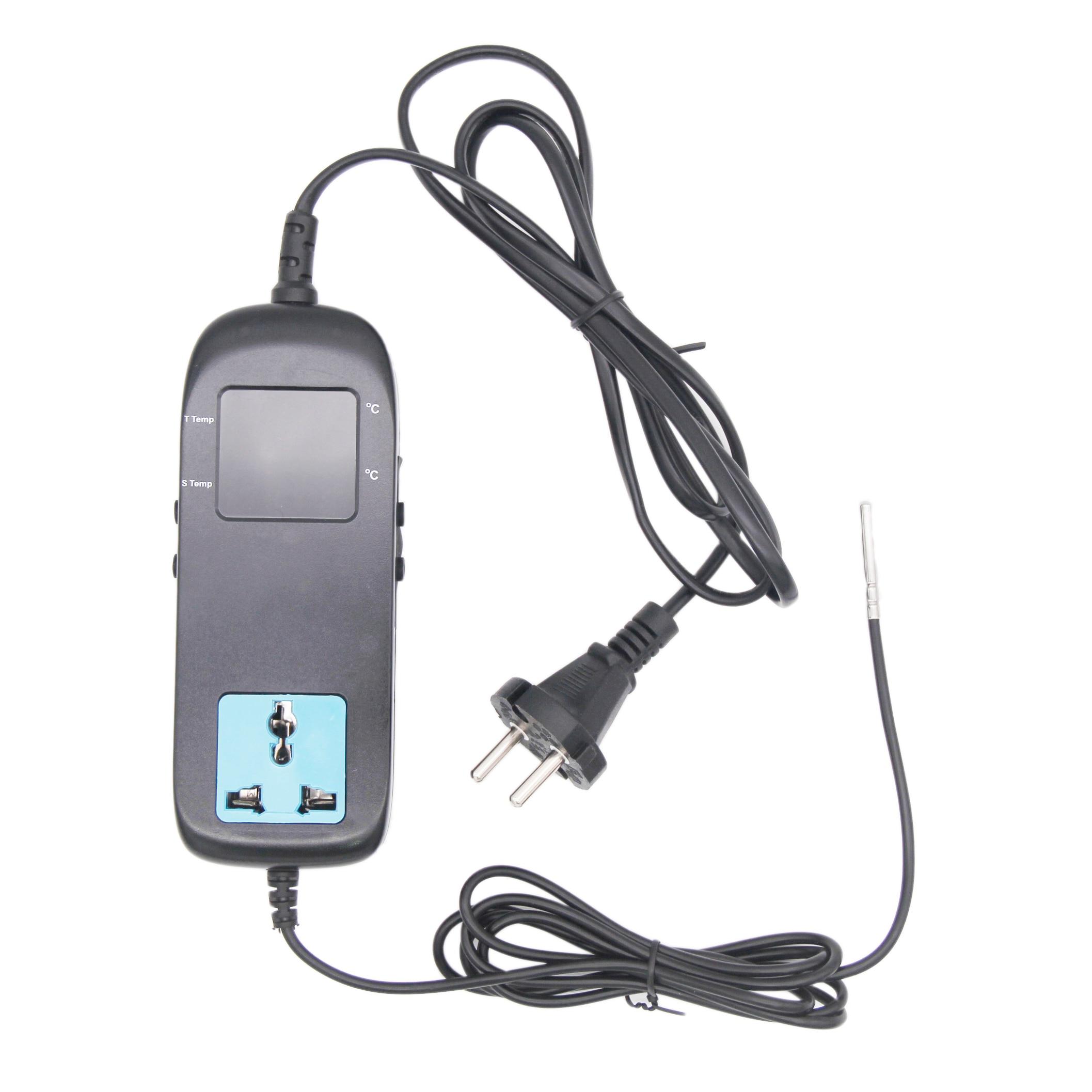 AC90V-250V Heizung und Kühlung Digitale Temperatur Controller Thermostat EU/UL Stecker 3W NTC Sonde