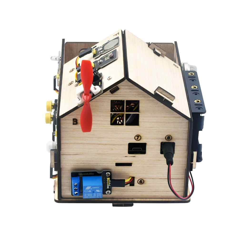 Keyestudio Smart Home Kit with PLUS Board for Arduino DIY STEM| | -  AliExpress