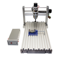 5AXIS CNC 2060 Engraving machine CNC Router 4axis 3 axis  mini carving milling engraver