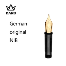 DARB Stainless Steel Fountain Pen Nib Tip EF/F Fountain Pens Nib Group  Pen School Accessories Replacement Nibs