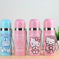 W nowym stylu Cartoon Hello Kitty Jingle izolowana butelka ze stali nierdzewnej Bullet Glass Gift w Butelki sportowe od Sport i rozrywka na