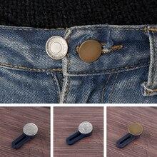 Jeans Buttons Waist-Extender Maternity-Skirts Pants Sewing-Accessories Metal Garment