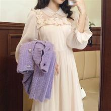 Сказочное винтажное платье женское французское вечернее праздничное