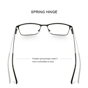 Image 3 - MERRYS DESIGN Men Luxury Titanium Alloy Optics Glasses Male Ultralight Eye Myopia Hyperopia Prescription Eyeglasses S2041