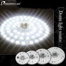 цена на Celling Lamp Lighting Source AC220V 12W 18W 24W 36W LED Panel Light LED Light Board Octopus Light Tube Replace Ceiling LED Lamp