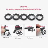 ERIKC Common Rail Injector Return Oil Backflow Pipe Rubber O-ring for Denso Bosch 110 Series Injector 10pcs/Bag