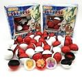 36 шт. покебол + 36 шт. фигурок, оригинальные игрушки покемон, мяч с фигуркой, модели игрушек для детей с коробкой