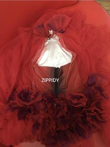 Image 3 - Vestido transparente con flores rojas para celebraciones de cumpleaños, Bar, cantante, espectáculo, largo para baile, 2019