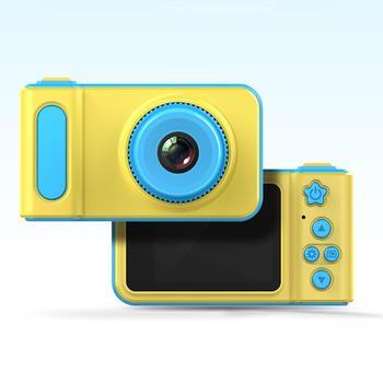 Kreatywny Mini 1080P inteligentne dzieci aparat cyfrowy aparat fotograficzny 2 calowy aparat fotograficzny kreskówka zabawki dla dzieci prezent urodzinowy maluch zabawki aparat tanie i dobre opinie Z tworzywa sztucznego CN (pochodzenie) 3 lat Unisex 299852 Zasilanie bateryjne Zabawki kamery