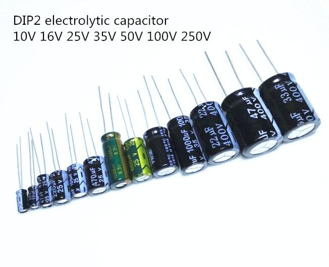 100pcs 47uF 10V Electrolytic Capacitor 10V 47UF 4x5mm