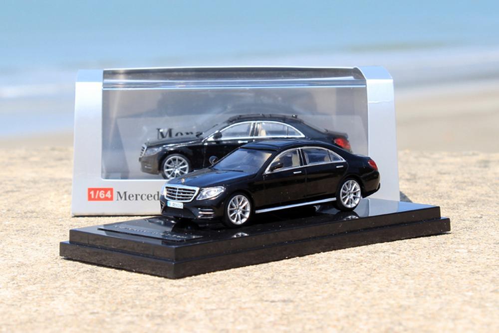 ACE 1/64 Scale Mercedes-Benz S-Class S 450 L W222 Black Diecast Car Model Gift