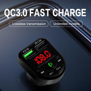 Bluetooth Car FM Transmitter MP3 Player Hands free Radio Adapter Kit USB Charger Battery Charger Unit phone charger Car charger image
