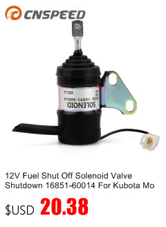 Shut Off Stop Solenoid 04287583 04287116 for DEUTZ F2L2011 BF3L2011