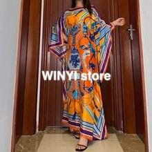 Кувейт в африканском стиле платье с принтом богемном хиджаб
