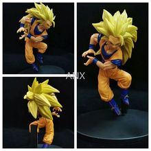 16CM Dragon Ball Son Goku Figure PVC Action Anime Figure Collection Model Toys Gift Super Saiyan Kakarotto Son Goku Figure new 20cm dragon ball z goku figure toy son goku jump 50th anniversary anime dbz model doll gift for children action figure toys