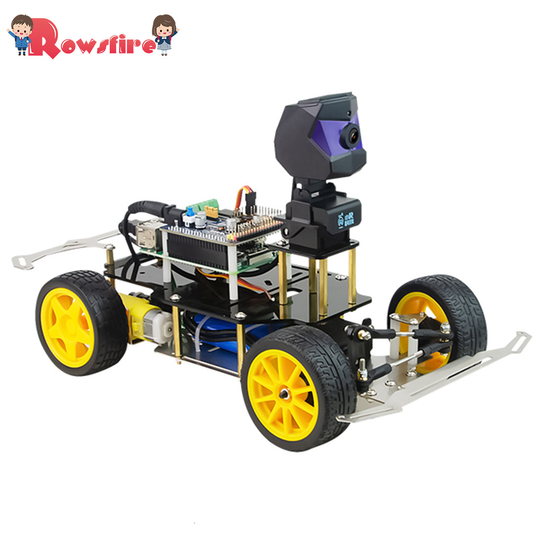 Donkey Car Smart AI Line Follower Robot Opensource DIY Self Driving Platform For Raspberry Pi RC Car