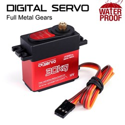 Hs3230 30kg 25t Coreless Waterproof Metal Gear Digital Servo For Rc Models Rc Car Accessories Rc Parts High Quality #3