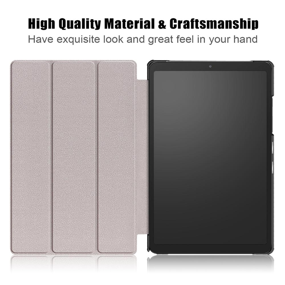 Чехол для планшета Samsung Galaxy Tab A7 10,4 Φ/T505, регулируемый складной чехол-подставка для Samsung Galaxy Tab A7 10,4 2020, чехол-5