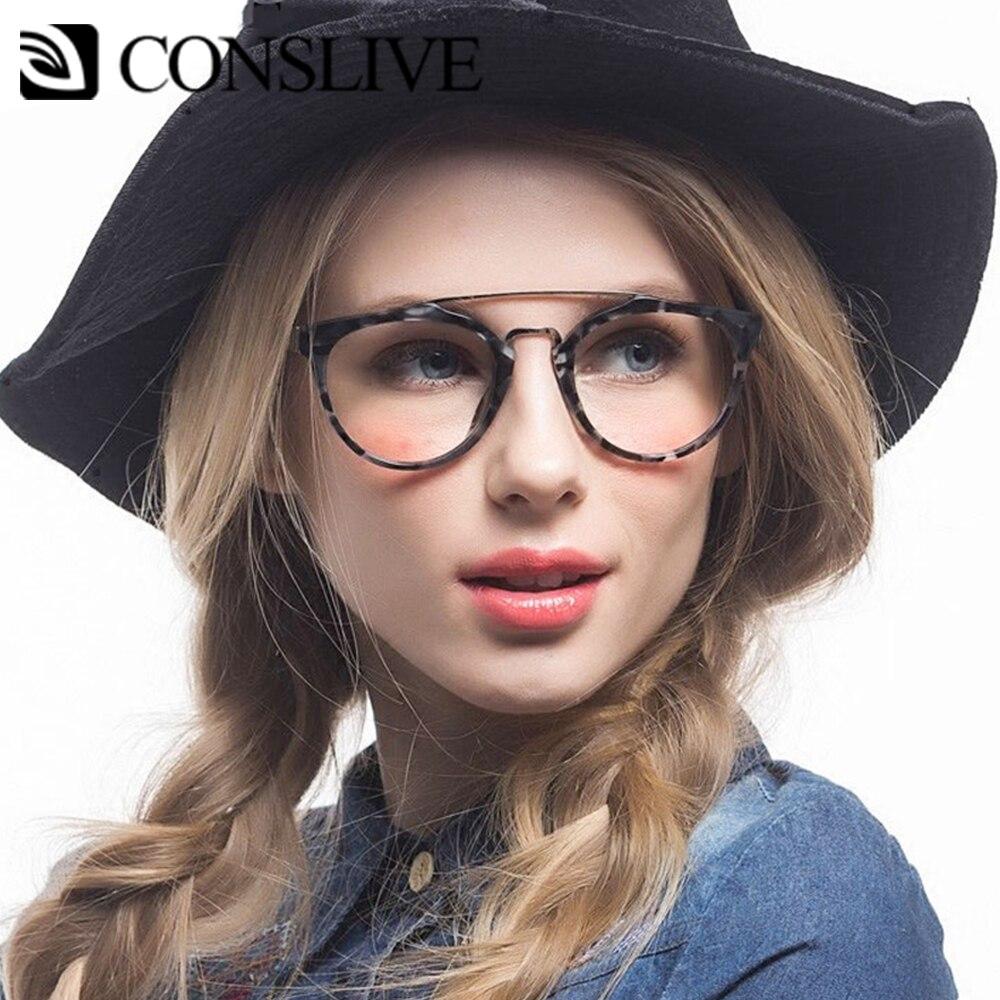 Retro Women Optical Glasses Frame Round Myopia Glasses Nearsighted Eyeglasses Prescription Men Optical Glass Spectacles K216