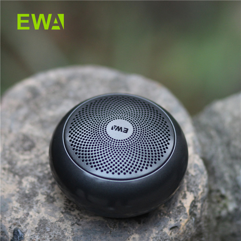 EWA A110mini Wireless Bluetooth Speaker Portable Built-in Battery Loud Sound Strong Bass Metal Covering(China)