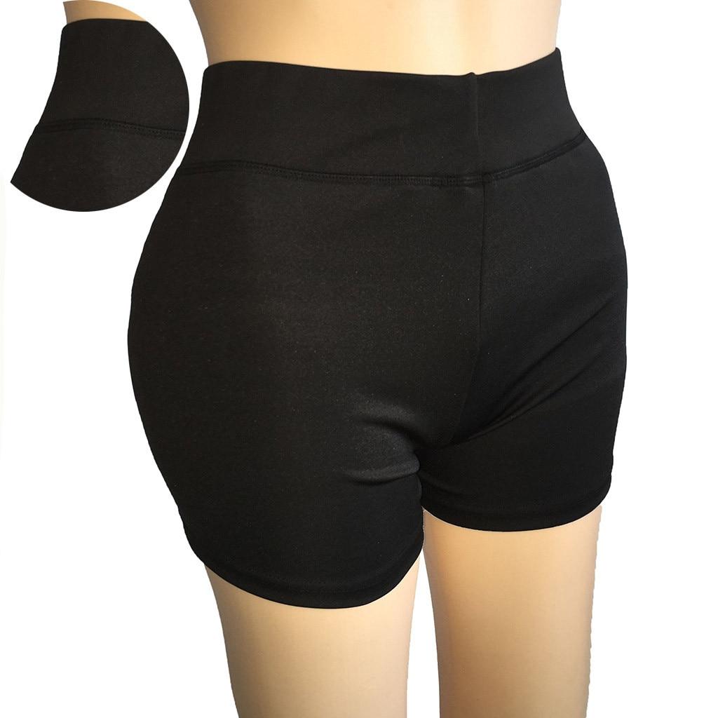Women's  Sports Shorts Casual Running Shorts Yoga Jogging Hot Mini Leggings Mallas Deporte Mujer 2019