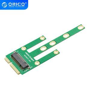 ORICO M.2 NGFF TO mSATA Adapter for 2230/2242/2260/2280mm M2 NGFF SSD Solid State Hard Drive M2 NGFF to mSATA(China)