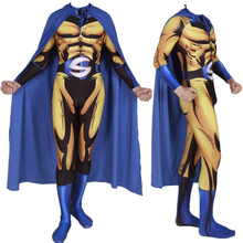 Adult Kids Sentry Death Knight Cosplay Costume Zentai Superhero Bodysuit Suit Jumpsuits Cloak