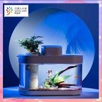 Xiaomi Geometry anfibio Eco Fish Tank Pro temporizzazione automatica alimentazione Wifi Smart Box funziona con Mijia Full Color Gamut Lighting