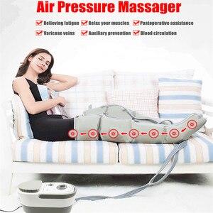Image 1 - Air Wave Druk Massager Continue Compressie Circulatiepomp Been Arm Taille Been Massageing Machine Spieren Ontspannen Herstel Devic