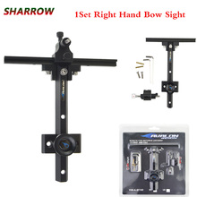 1pcs Archery Beginner Recurve Bow Sight Target Right hand Practice Sight Outdoor Shooting Hunting Accessories цена