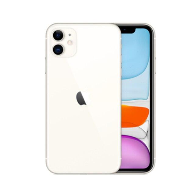 Used Unlocked Original iPhone 11 6.1 inch Full OLED Display  1 Sim Card 4G LTE Dual-camera Smart Phone 64/128/256GB ROM A13 1