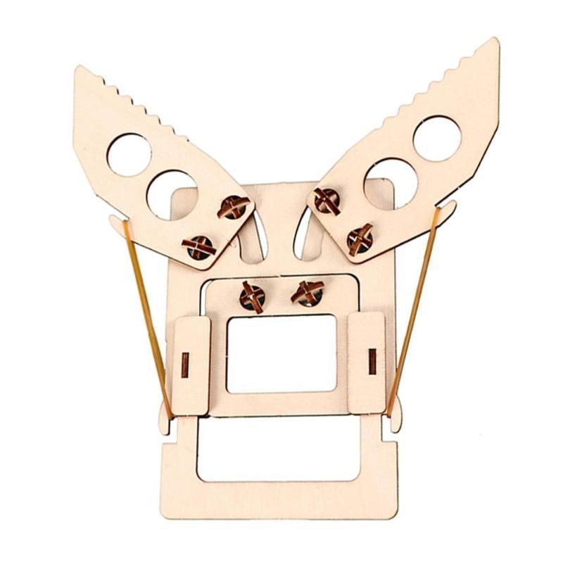 Kids Mechanical Manipulator Hand Toys Kit Good Material Flexibility Superb Craftsmanship Assemble Educational Exploration Craft