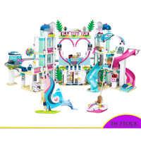 Kompatibel Mit Lepining Freunde Heartlake Stadt Resort Top Hotel Bausteine Kit Für Kinder Spaß Spielzeug Set Für Mädchen Weihnachten