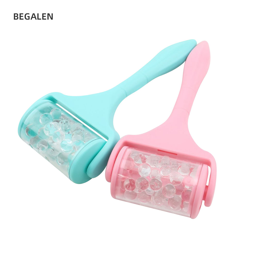 2020 New Facial Massage Ice Roller Anti Wrinkles Double Chin Reduce Face Lifting Masajeador Facical Lifting Face Roller