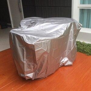Image 5 - 11 גדלים כסף עמיד למים חיצוני פטיו גן ריהוט מכסה גשם שלג כיסא כיסויי ספה שולחן כיסא אבק הוכחת כיסוי