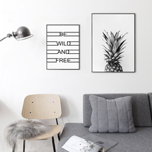 Nordic Poster HD Wall Art Modular Fashion Creative Style Fruit Pineapple Canvas Painting Print Corridor Cafe Home Decor Picture