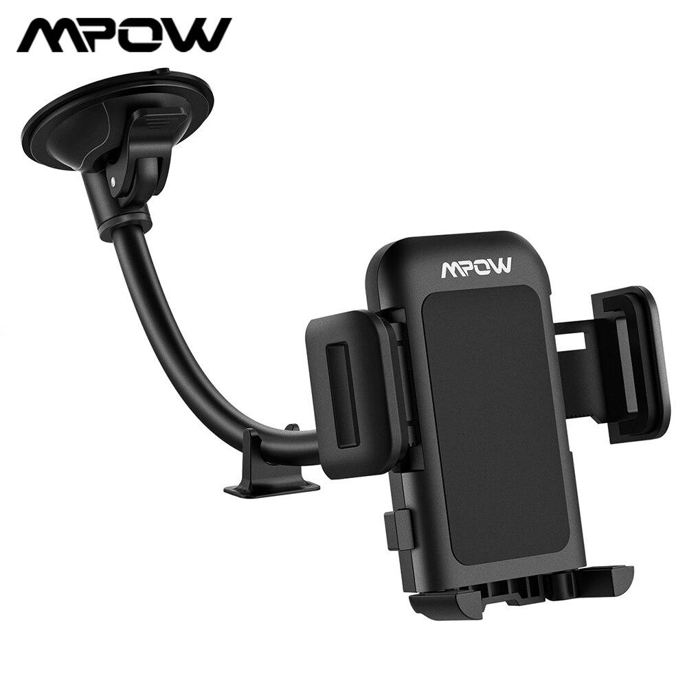 Mpow CA033 Автомобильный держатель для телефона с длинной рукояткой на присоске, держатель для мобильного телефона с одной рукой, автомобильный...