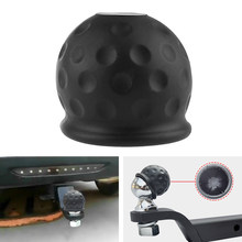 50mm Tow Bar Ball Cover Cap Towing Hitch Caravan Trailer Towball Protect PVC Universal For Car Truck Trailer RV Camper ATV Quad(China)