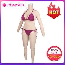 Силиконовые формы для груди Roanyer, цельные костюмы для трансгендеров с руками, искусственные груди для трансвеститов