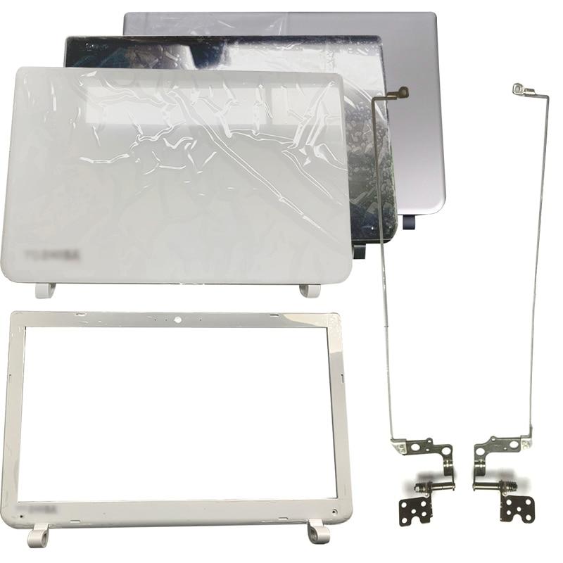 NEW For Toshiba Satellite L50B L50-B L55-B S55T-B S55-B Laptop LCD Back Cover/Front Bezel/Hinges DTG33BLILC00 B1BLI0RC02S