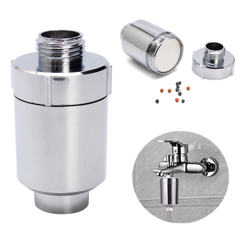 Bathroom Sprinkler Filter Water Tap Purifier Water Filter In Line Faucet Shower Head Batch Kitchen Softener Chlorine