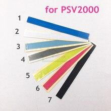 7 renk isteğe bağlı orijinal etiket etiket için yedek PSV2000 için PS Vita 2000 konsol geri kabuk